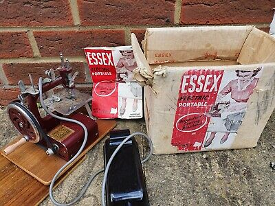 Essex Electric portable miniature sewing machine