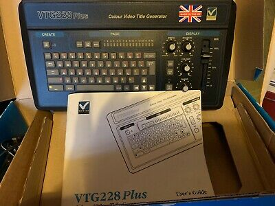 VideTech VHS editing equipment vintage equipment in excellent condition