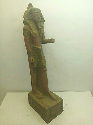 RARE ANCIENT EGYPTIAN ANTIQUE KHAFRE Protected By Horus Statue 2520-2352 BC
