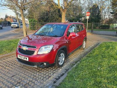 Chevrolet Orlando 1.8 Petrol 16v LT 5 door Automatic 2012 7 Seater Red