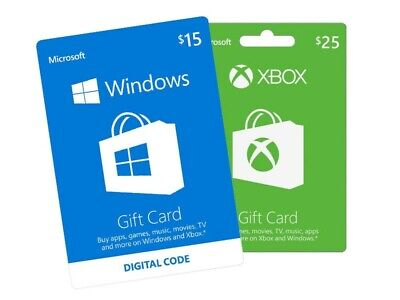 $110 Xbox Live Gift Card Digital $100 +$10 Microsoft store movies games One