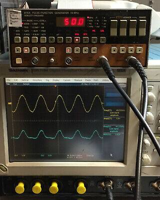 HP 8116A Pulse Function Generator 50MHz