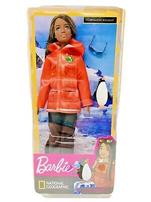 Barbie Polar Marine Biolologist I Can Be Anything Career Doll Nat Geo ~ New