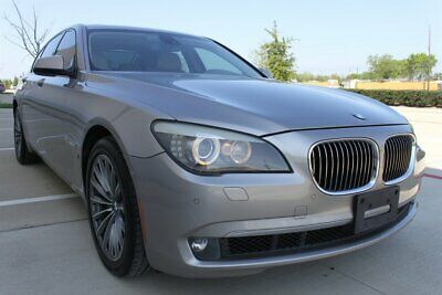 "2011 7-Series 750i DRV ASST LUX SEAT NAV MSG/VENT STS FREE SHIP 2011 BMW 750i DRV ASSIST LUXURY SEAT PKG MASSAGE 19"" WHLS VENT SEATS MSRP $91975"
