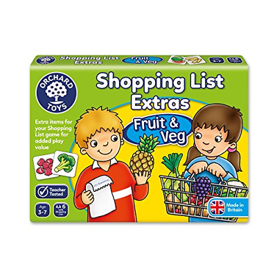 Orchard Toys Shopping List Extras Fruit and Veg