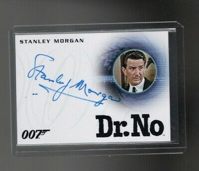 2015 JAMES BOND 007 ARCHIVES A272 Stanley Morgan auto card