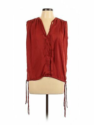 Assorted Brands Women Red Sleeveless Blouse L