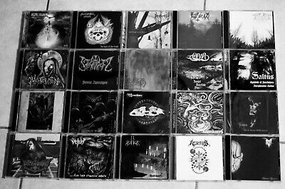 Black Metal 20 CD Lot Dodsferd Sear Bliss Chaos Moon Saltus Nocturnal Breed