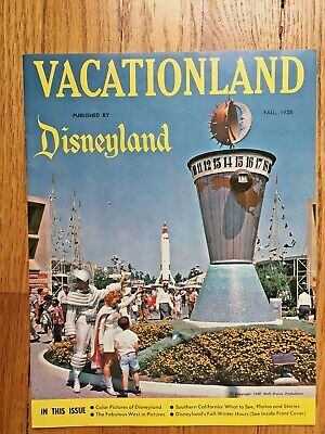 Disneyland Vacationland Fall 1958 Joe E. Brown, Ernie Kovacs PRISTINE!
