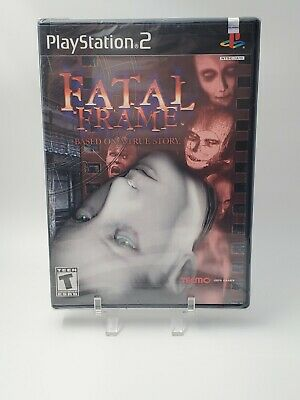 Fatal Frame Black Label Brand New Factory Sealed 1st Release Playstation 2 PS2