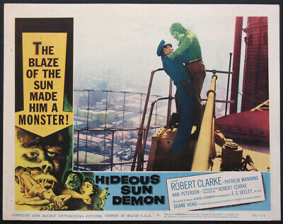 Super 8mm  - THE HIDEOUS SUN DEMON 1958  DIGEST B&W / SILENT USED VERY GOOD