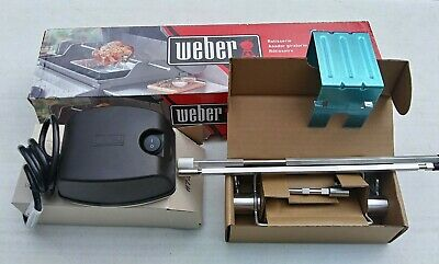 New Genuine Weber Rotisserie 7659
