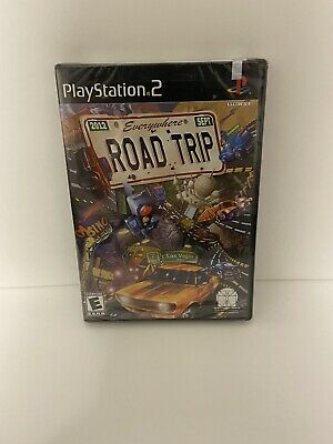 Everywhere Road Trip (Sony PlayStation 2, 2002) PS2 Brand New Sealed Rare