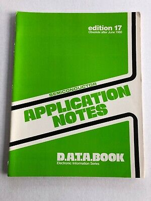 D.a.t.a. Semiconductor Application Notes June 1980 80S Engineering Edition 17