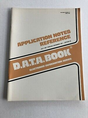 D.a.t.a. Semiconductor Application Notes Dec 1981 80S Engineering Edition 20
