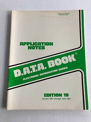 D.a.t.a. Semiconductor Application Notes June 1981 80S Engineering Edition 19