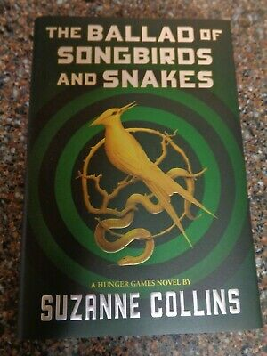 The Ballad of Songbirds and Snakes: A Hunger Games Novel (Hardcover New) Collins