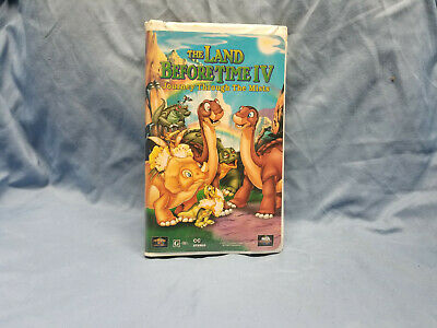 The Land Before Time IV: Journey Through the Mists (VHS, 1996, Clamshell)