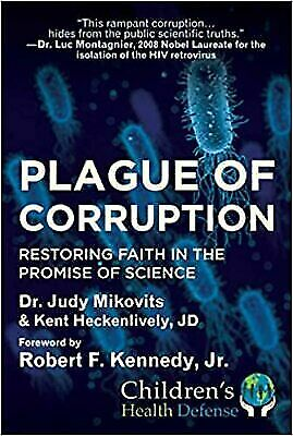 Plague of Corruption HARDCOVER 2020 by Judy Mikovits Brand New