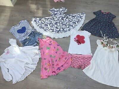 Bundle Of Girls Summer Clothes Aged 6-7 Years inc Fat face, NEXT, Cath kids :)