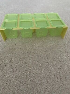 Baby Food Freezer Pots With Stand