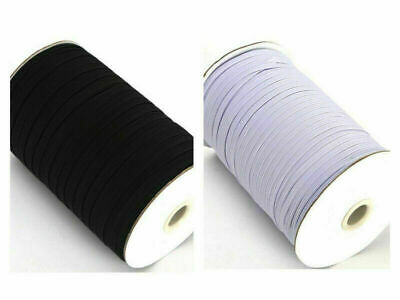 FLAT CORDED ELASTIC  Dress Making Sewing Face Masks Strong 10 Cord Stretchy