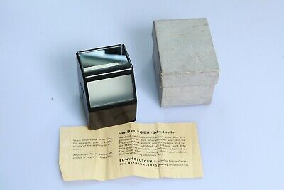 VIDOX, GERMANY vintage darkroom Focus finder in box with German Instructions