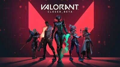 Valorant Closed_Beta Account EUW Riot Games (images)