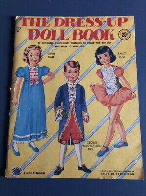 The Dress-up Doll Book 1953