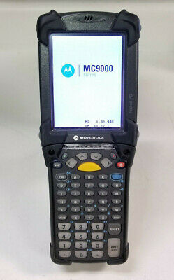 Symbol Motorola MC9090-GF0HJEFA6WW Wireless Barcode Scanner No Battery No Pen