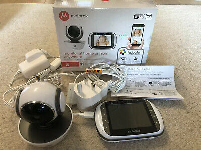 Motorola Digital Video MBP853 CONNECT Baby Monitor With Wi-Fi Viewing - With Box