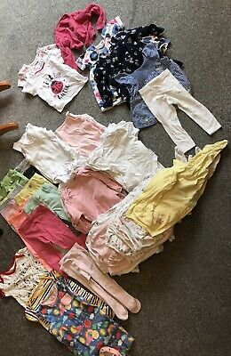 Baby Girl Clothes Bundle 9-12 months Huge Sleepsuit Bodysuit Dress Romper Summer