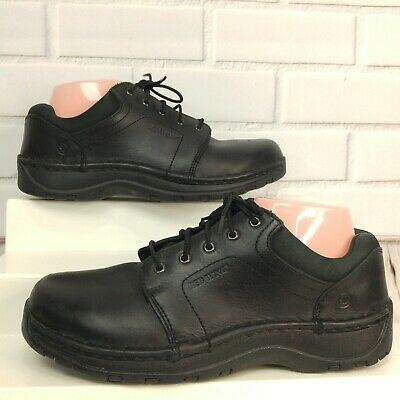 Red Wing 2323 Womens Black Oxford Shoe Size 8D Lace Up Aluminum Toe Work