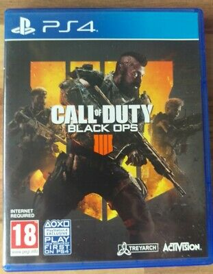 Call of Duty BLACK OPS 4 PS4 IIII Mint Same Day Dispatch 1st Class Delivery Free