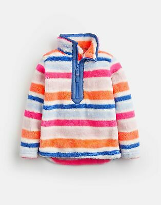 Joules Girls Merridie   Fluffy Fleece Sweatshirt  -  Size 5yr