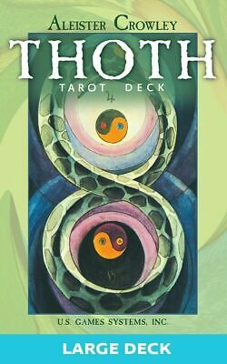 Large Thoth Tarot Card Deck by Aleister Crowley  ~ NEW & SEALED ~ Torn Wrapping