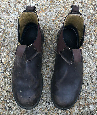 Blundstone 550 Series Men's Brown Leather Boots Australian Size 9.5 / US 10.5