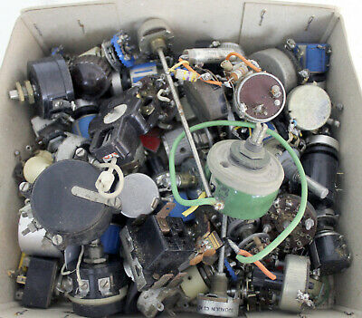 Job lot of mainly Precision potentiometers Bourns, Helipot Spectrol, Beckman ect