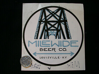 Mile Wide Brewing CO-Louisville, Kentucky-Ales, Craft Beer, Sticker-Decal