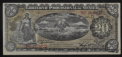 Mexico(1)Bank Note  20 Pesos  12.1.1914   P S 1111 A  Almost Uncirculated