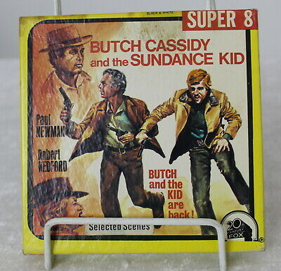 SUPER 8MM CINE, FILM BUTCH CASSIDY and the SUNDANCE KID Robert Redford & Newman