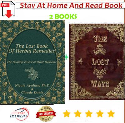 The Lost Book of Herbal Remedies & The Lost Ways by Claude Davis [PÐF]