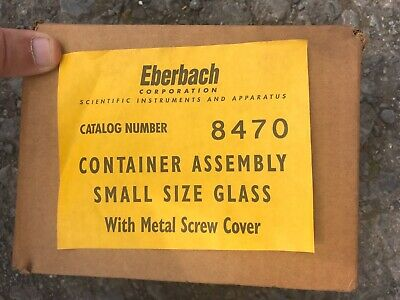 Eberbach 8470 Glass Container with lid