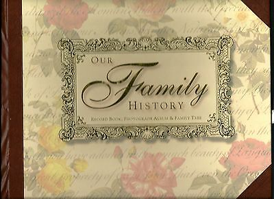 Our Family History Book ~ Beautiful ~ Genealogy, Family Tree