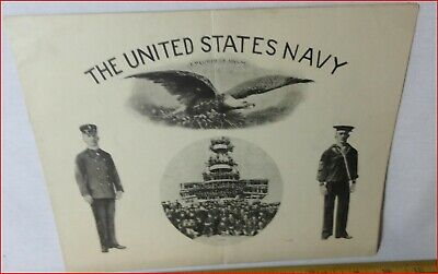"""Soft Cover book """"The United States Navy"""" dated 02-13-1905"""