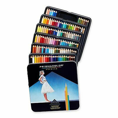Prismacolor Premier Soft Core Colored Pencils Assorted Colors Set of 132