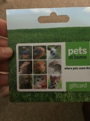 Pets at Home gift card giftcard voucher £25 COLLECTION ONLY OR PLEASE READ