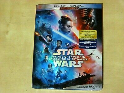 STAR WARS - THE RISE OF SKYWAKER (Blu-ray, Incl. Digital Copy *NEW)