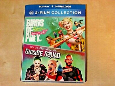 BIRDS OF PREY, SUICIDE SQUAD -  2 MOVIE COLLECTION (Blu-ray, Incl. Digit. *NEW)