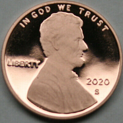 2020-S Lincoln Shield Cent Proof Red Penny Nice No Problem Coin